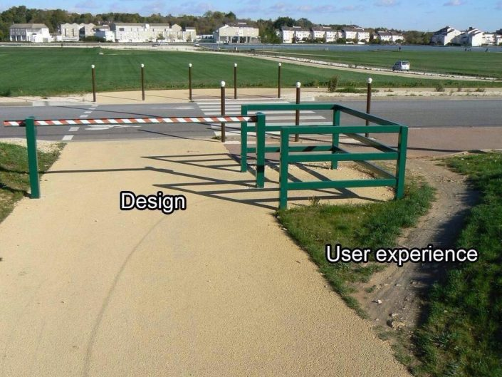 Design Vs. User Experience