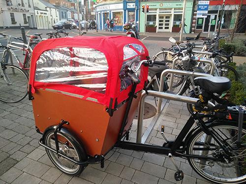Bicycle parking facilities in Blackrock, County Dublin, Ireland